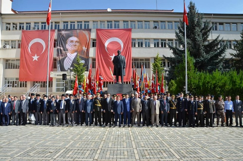 30 Ağustos Zafer Bayramı'nın 94. Yıldönümü Törenle Kutlandı.