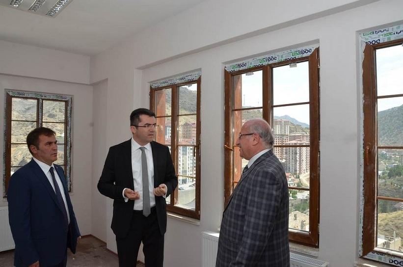 Gümüşhane Valisi Aile ve Sosyal Politikalar İl Müdürlüğü Yeni Hizmet Binasını İnceledi