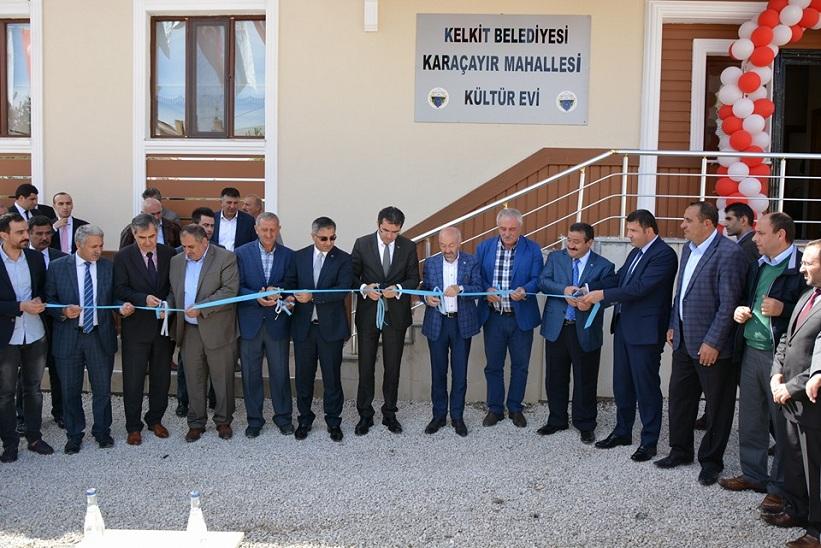 Kelkit Karaçayır Kültür Evinin Açılış Töreni Yapıldı