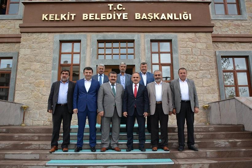 Başkan Yılmaz Ak Parti Giresun Milletvekili Ve Beraberindekilere Ziyaretlerinden Dolayı Teşekkür Etti
