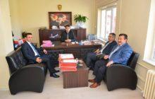 Kaymakam Yavuz Ve Başkan Yılmaz Cumhuriyet Savcısına Ve Hakim'e Yeni Görev Yerlerinde Başarılar Dilediler