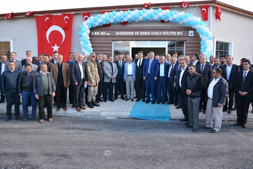 Kelkit te Remzi Zorlu Kültür Evi'nin Açılışı Yapıldı