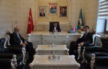 Başkan Yılmaz Torul Kaymakamı Ve Belediye Başkanı'na Ziyaretlerinden Dolayı Teşekkür Etti.