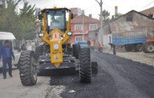 Kelkit Belediyesi Asfaltlama Çalışmaları Devam Ediyor