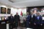 Kaymakam Yavuz'a Plaket Takdim Ettiler