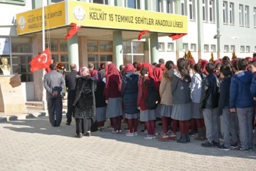 Kelkit Anadolu Lisesi  , 15 temmuz Şehitler oldu