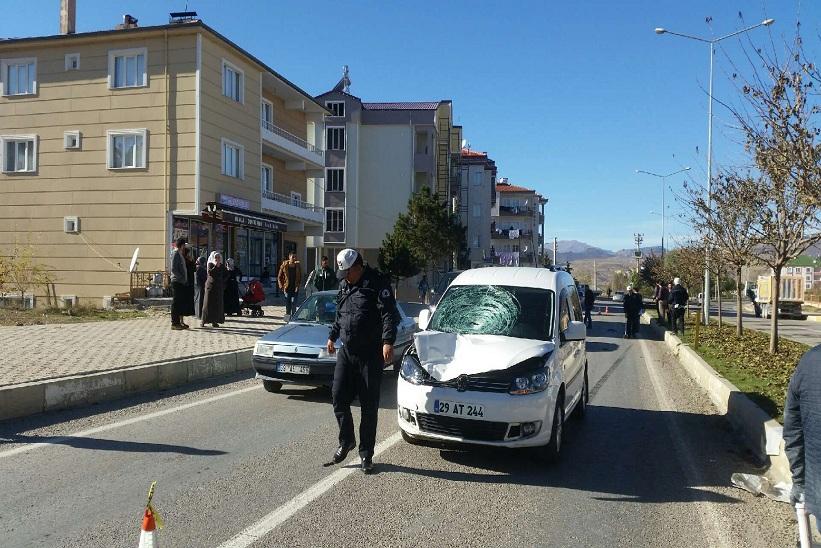 Kelkit'te Trafik Kazası , 1 ölü