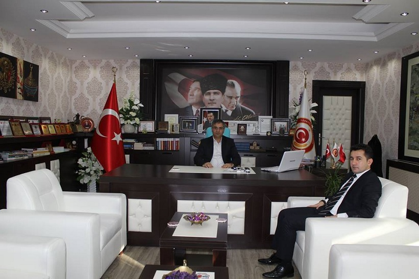 Köse Kaymakamı Mustafa Duruk Kelkit Kaymakam'ı Naif Yavuz'u Ziyaret Etti