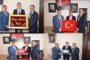 Kaymakam Yavuz Ve Başkan Yılmaz Köse Kaymakamlığına Atanan Mustafa Duruk'u Makamında Ziyaret Ettiler