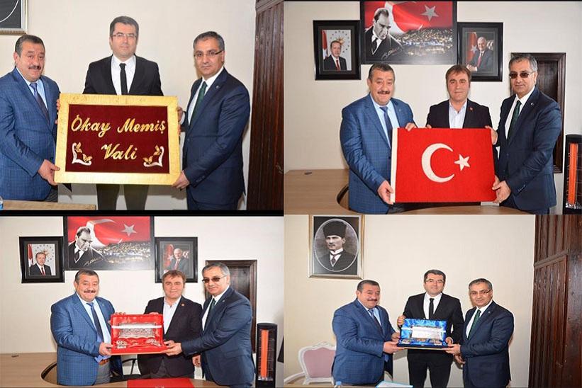 Kaymakam Yavuz Başkan Yılmaz Gümüşhane Valisi Ve Belediye Başkanını Ziyaret Ettiler