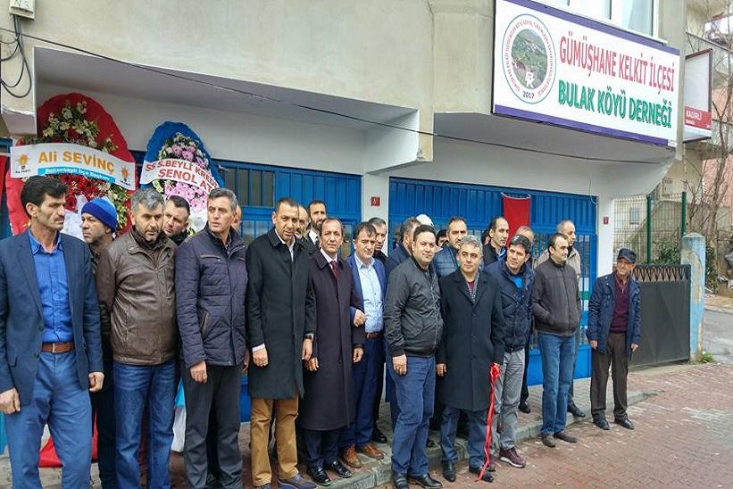 İstanbul'da Kelkit Bulak Köyü Derneği Açılışı