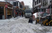 Kelkit'te Yoğun Kar Yağışı Devam Ediyor