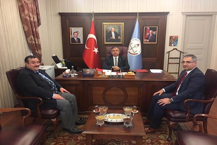 Kaymakam Yavuz Başkan Yılmaz Ziyaretlerine Devam Ediyorlar
