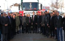 Şiranlılar Halep için el ele verdi