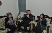 Gümüşhane Valisi ve Eşi Şehidimiz Polis Memuru Cengiz Erkan'ın Annesine Ziyarette Bulundular