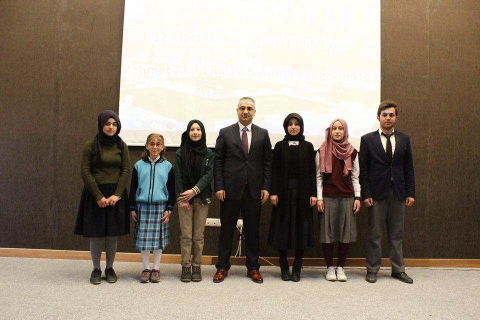 Kelkit Te İstiklal Marşının Kabulünün 96.Yıl Dönümü Anma Programı Gerçekleştirildi
