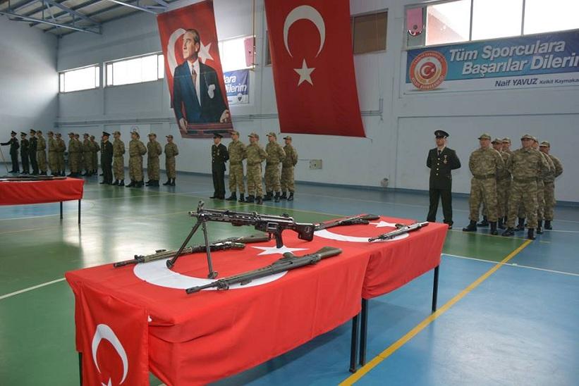 Kelkit'te 27 Asker Yemin Etti
