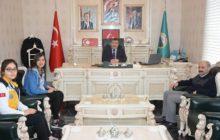Sağlık MYO'dan Başkan YILMAZ'a Ziyaret