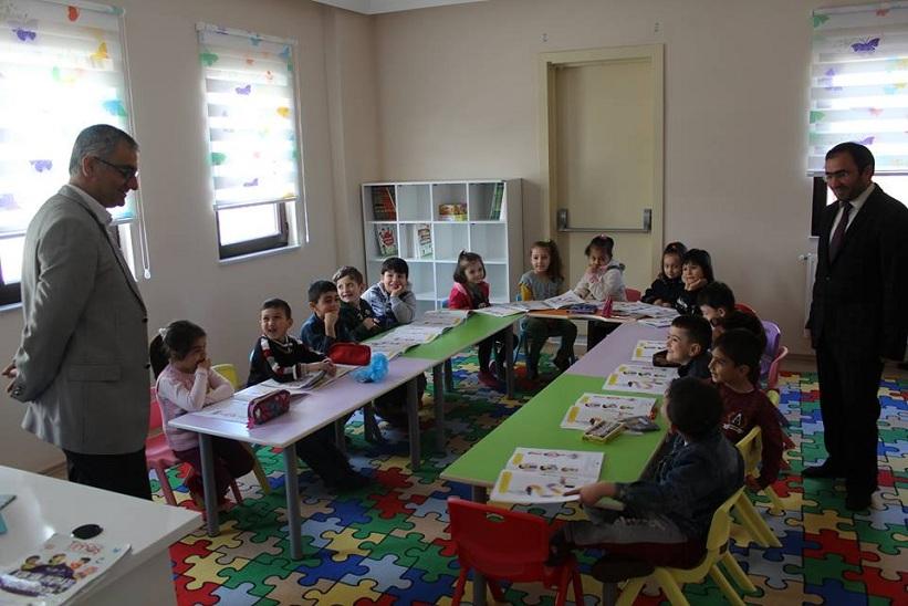 Kelkit Kaymakamı Yavuz İlçe Müftülüğü Hacı Mevlüt Maral Ana Okulunu Ziyaret Etti