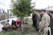 Kelkit Jandarma Komutanlığı Bahçesinde Kurban Kesildi