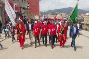 19 Mayıs Atatürk'ü Anma Ve Spor Bayramı Münasebetiyle Yürüyüş Düzenlendi