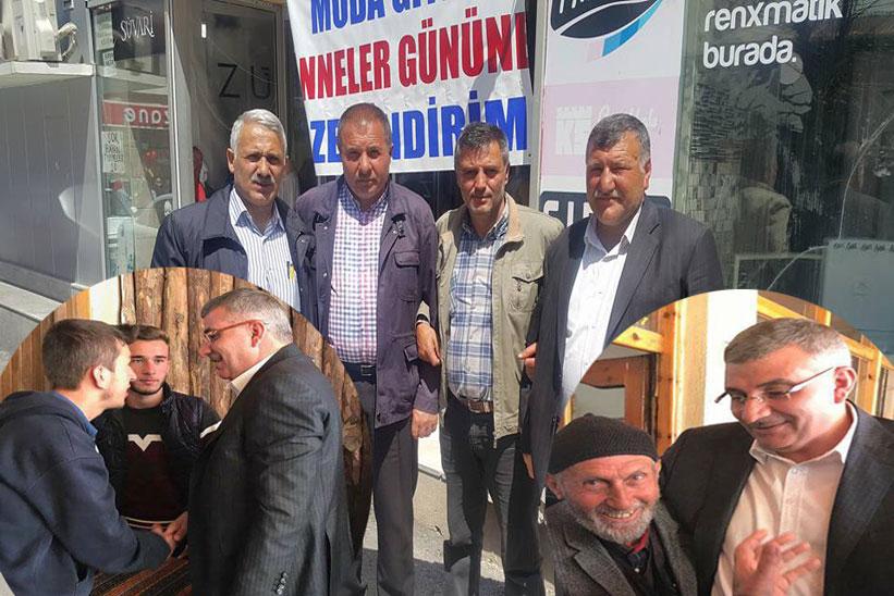 Milletvekili Cihan Pektaş Kelkit Te Esnafları Ve Vatandaşları Ziyaret Etti