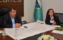 Başkan Yılmaz Doğalgaz Altyapı Yatırım Planlaması Kapsamında Toplantı Gerçekleşti