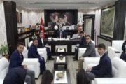 Muammer Ve Enver Şahin Anadolu Lisesi Öğretmenleri Ve Öğrencileri Kaymakam Yavuz'u Ziyaret Etti.