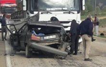 Şiran'da Kaza 1 Ölü 1 Yaralı