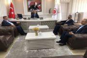 Kaymakam Yavuz Başkan Yılmaz Ziyarette Bulundular