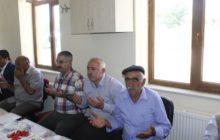 Kaymakam Yavuz Sadak Köyü Gazimiz Dursun Başal'ın Hac Yemeğine Katıldı.