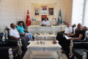 Başkan YILMAZ'ı Ziyaret Ettiler