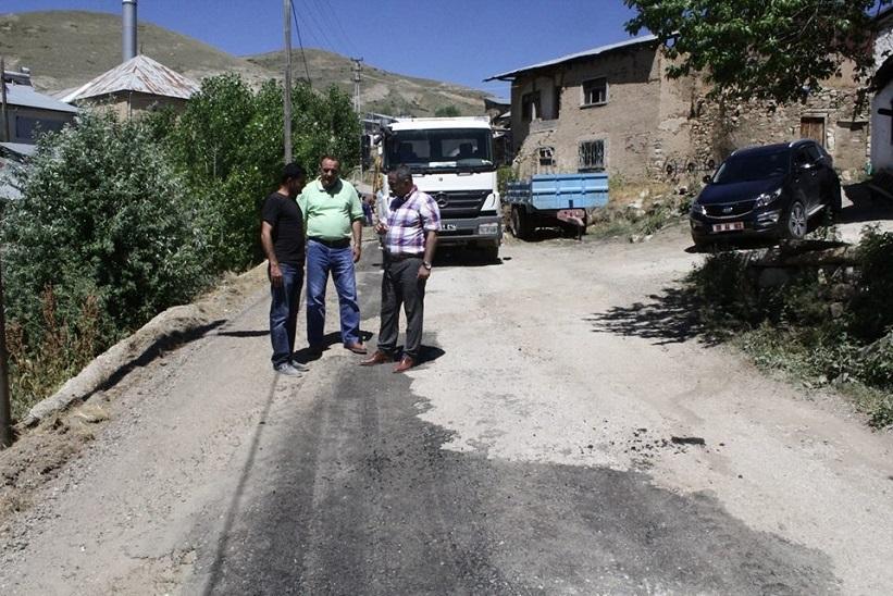 Kaymakam Naif Yavuz Sökmen Köyü Yol Yapımını Yerinde İnceledi.