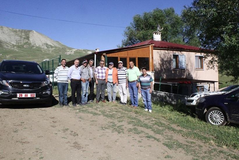 Kelkit Kaymakamı Naif Yavuz Devekorusu Köyünü Ziyaret Etti.