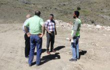 Kelkit Kaymakamı Naif Yavuz Günbatur Köyü Sulama Göleti Çalışmalarını Yerinde İnceledi
