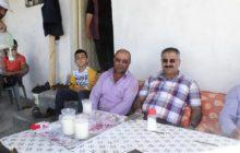 Kelkit kaymakamı Naif Yavuz Yarbaşı Köyünü Ziyaret Etti.