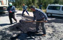 Kaymakam Yavuz Başpınar Kılıçtaşı Dayısı Kılıççı Sökmen Köyü Yol Yapım Çalışmalarını İnceledi