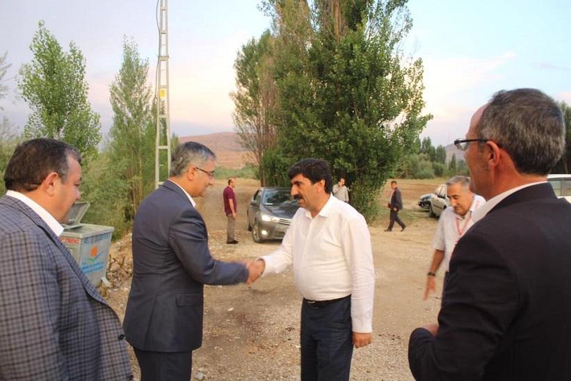 Kaymakam Yavuz Kardeşlik Köprüsü Projesi Kapsamında Bingöl Heyeti İlçemize Teşrif Etti
