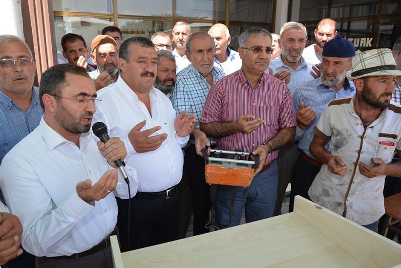 Yeni Camii Temel Atma Töreni