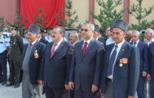 19 Eylül Gaziler Günü Hükümet Konağı önünde düzenlenen törenle kutlandı.