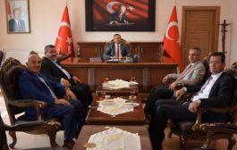 Şiran Kaymakamı Ahmet Vezir Baycar'ı Ziyaret Ettiler