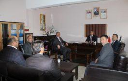 Kaymakam Yavuz 15 Temmuz Şehitler Anadolu Lisesini Ziyaret Etti.