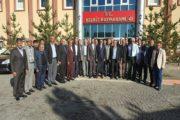 Kaymakam Yavuz Başkan Yılmaz Muş İli Hasköy İlçesi Köy Ve Mahalle Muhtarlarını Ağırladık