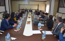Tarıma Dayalı İhtisas Organize Sanayi Bölgesi İle İlgili Toplantı Kaymakamlık Toplantı Salonunda Gerçekleştirildi