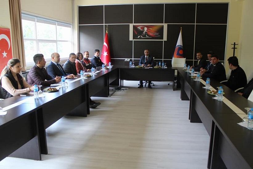 Kadmyo Ve Shmyo 1.Dönem Güvenlik Koordinasyon Toplantısı Gerçekleştirildi