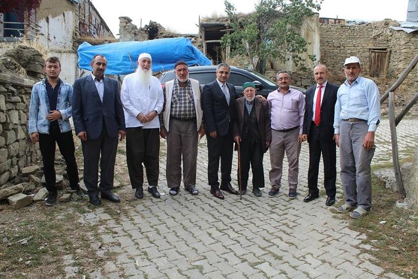 Kaymakam Yavuz Belenli Köyünü Ziyaret Etti