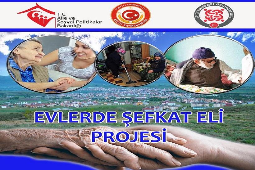 Yaşlılar'a Hizmet İçin Proje Bitmeden Yeni Projeye Başlandı