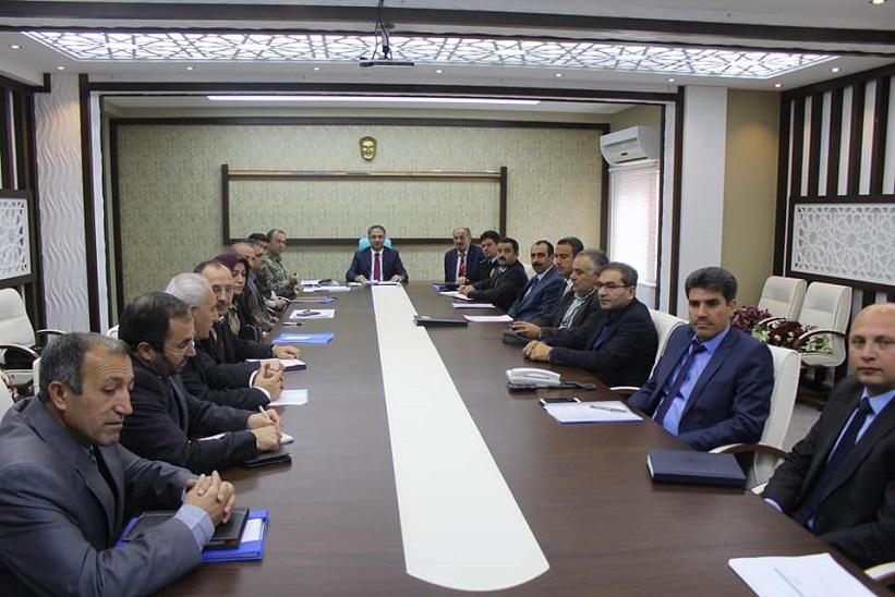 İlçe İdare Şube Başkanları Toplantısı Kaymakam Yavuz Başkanlığında Gerçekleştirildi.