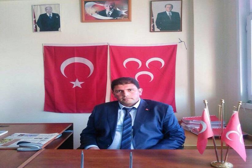 Mhp İlçe Başkanı Özkan Keskin Yapılan Saldırıyı Kınıyoruz