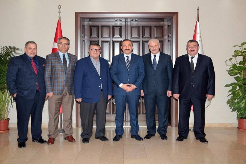 Kaymakam Yavuz Başkan Yılmaz Ankara İl Emniyet Müdürü Servet Yılmaz'ı Ziyaret Etti
